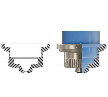 PLASTIFORM resina per replica forme interne semplici