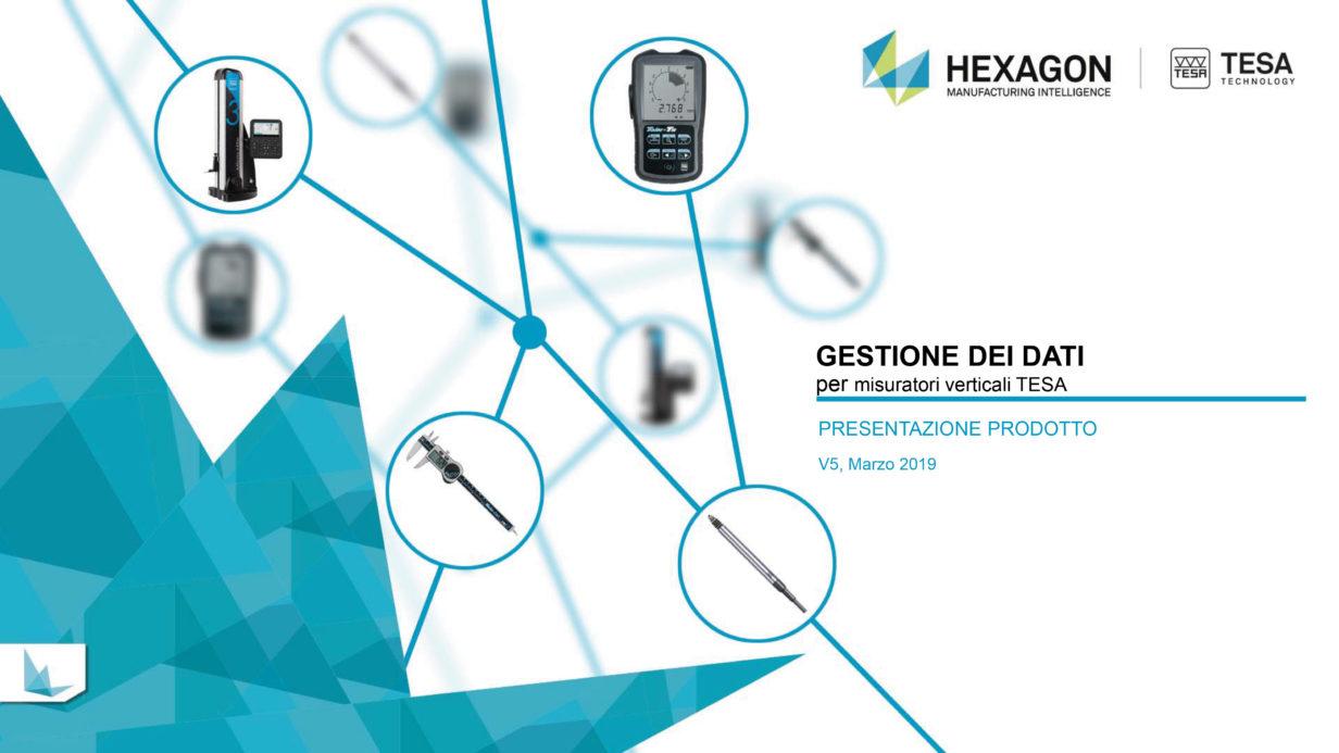 Gestione dati con altimetri TESA V5 IT-1 Ramico