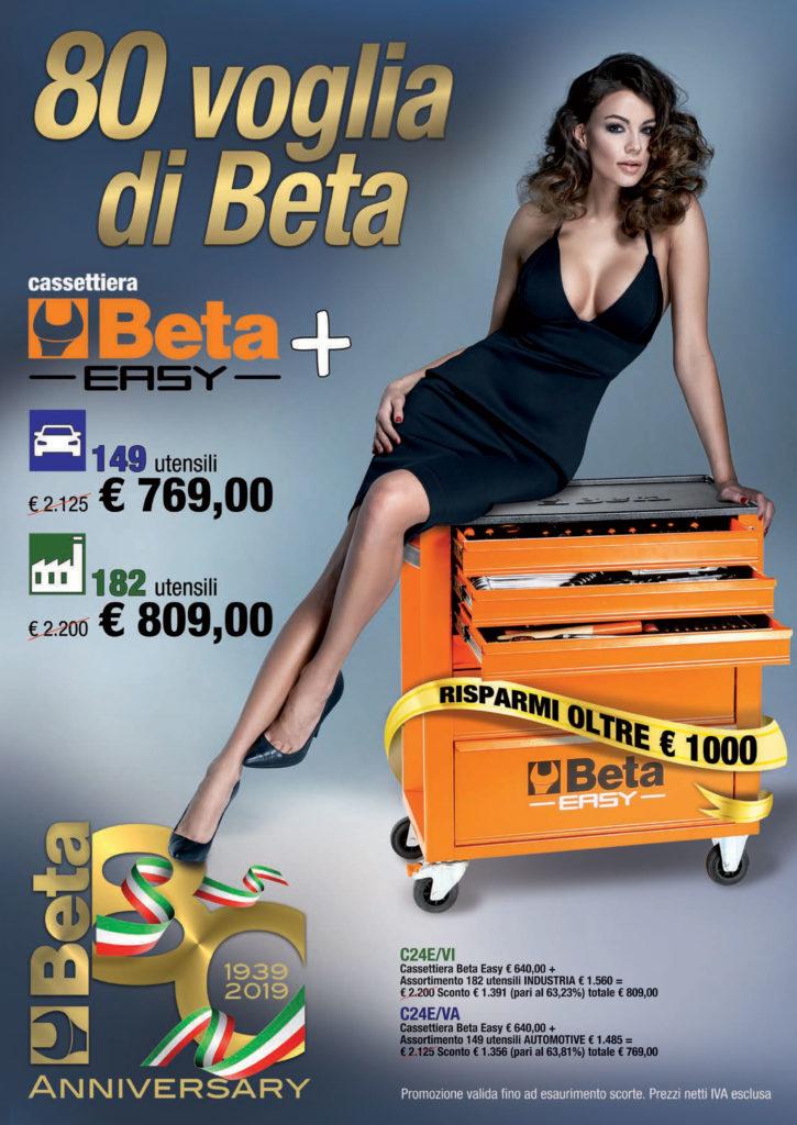 Promo Beta 80 Voglia di Beta 2019 Ramico Torino