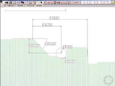 HMI Software Misurazione Ottica Exameca Ramico