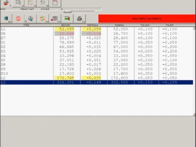 HMI Software Misure Exameca Ramico