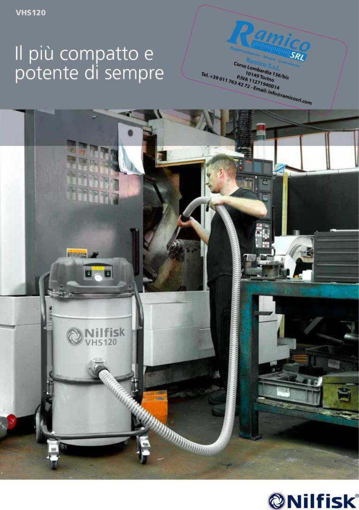 Aspiratori industriali Nilfisk ramico VHS120
