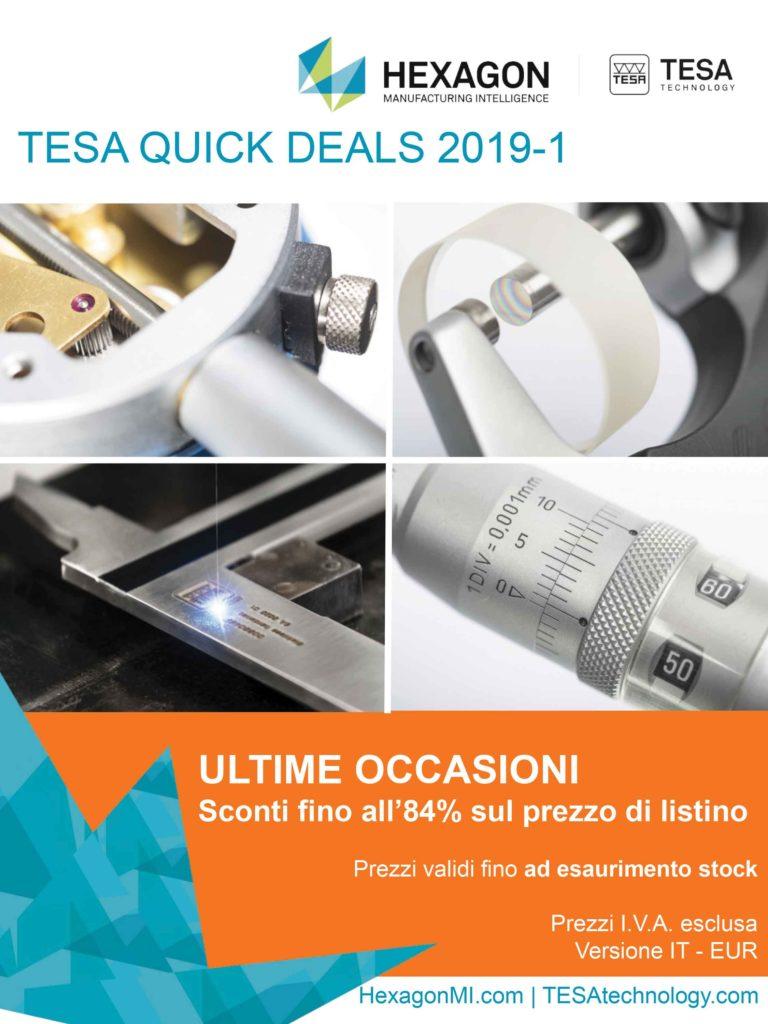 TESA Quick Deals 2019-1 IT-EUR Ramico Strumenti di Misura Torino