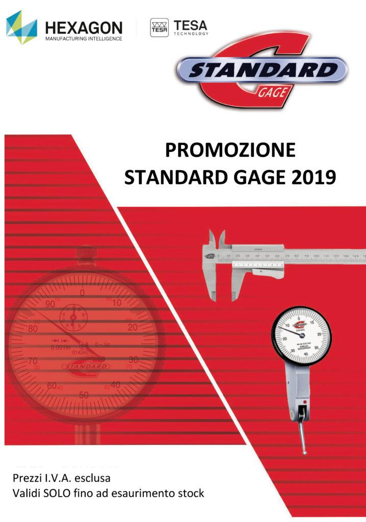 Promozione Tesa Standard Gage 2019 Ramico Strumenti Misura