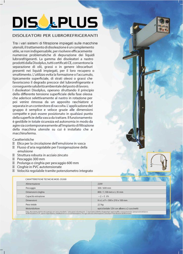 Disolplus disoleatori lubrorefrigeranti