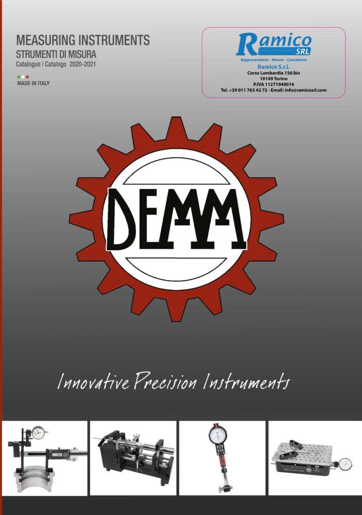 Catalogo generale demm 2020 Ramico Strumenti Misura