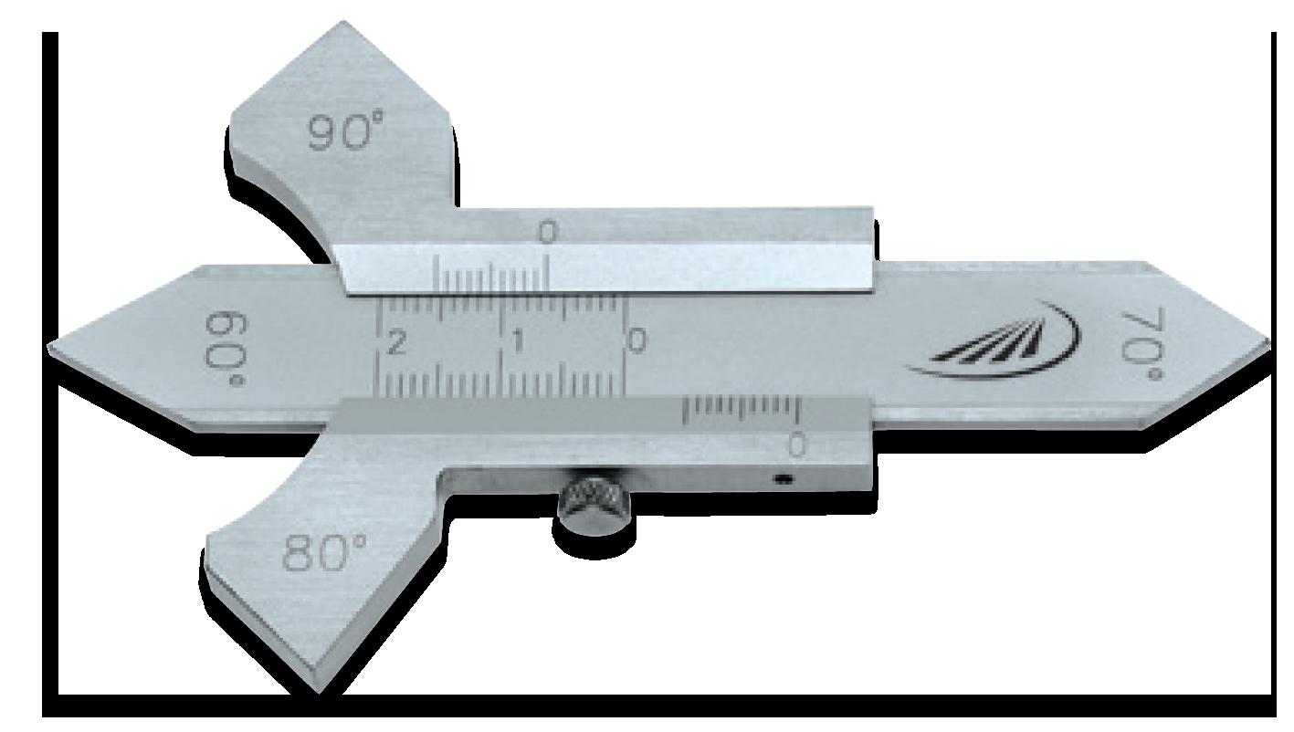 Helios Preisser 0595 Calibro controllo saldature piatte Ramico Strumenti Misura