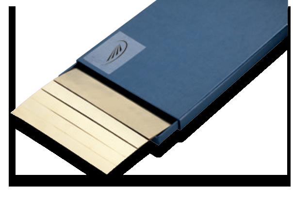 Helios Preisser 0613 Fogli di spessore dichiarato di precisione ottone Ramico Strumenti Misura