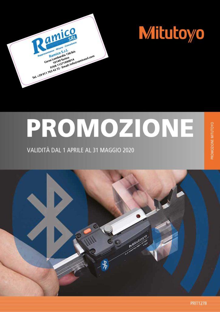 Promo primavera Mitutoyo 2020 Ramico Strumenti Misura Torino